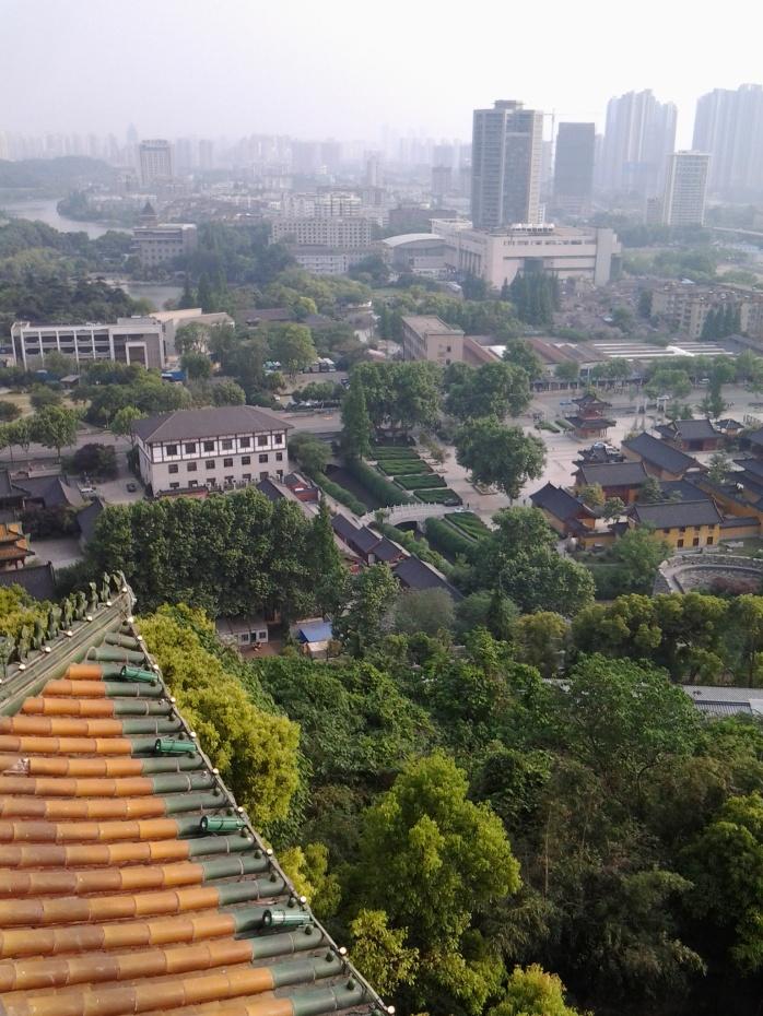 Nanjing from YueJiangLou