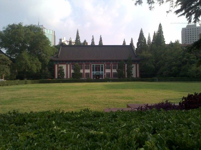 Salah satu gedung di Nanjing Normal University
