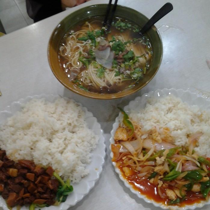 Makanan halal di Restoram Muslim di Nanjing